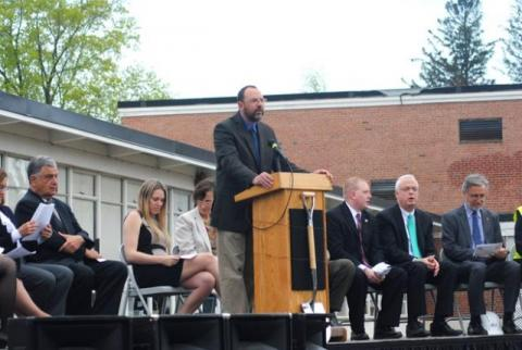 Haverhill, Hunking Middle School Groundbreaking